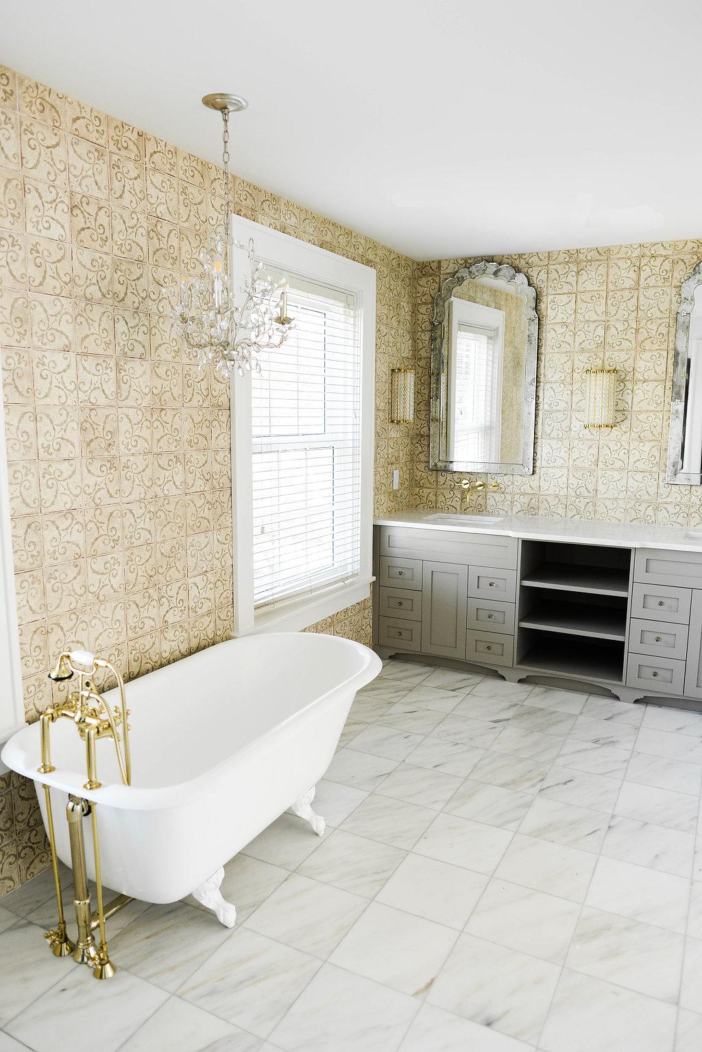 1950 bathroom remodel - Traditional Bathroom Brass Finishes Jpg
