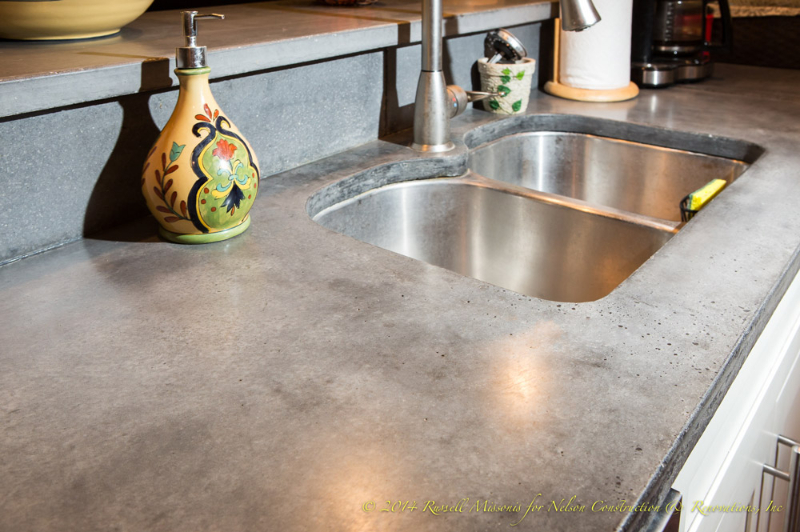 Concrete Countertop - nelson contstruction & reno