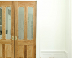 Custom made wood doors