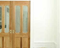 Custom made wood doors