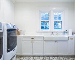 Laundry Room Custom Cabinets
