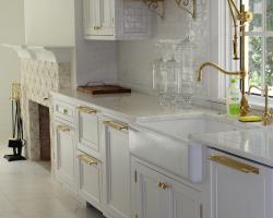 White-Kitchen-Brass-Fixtures