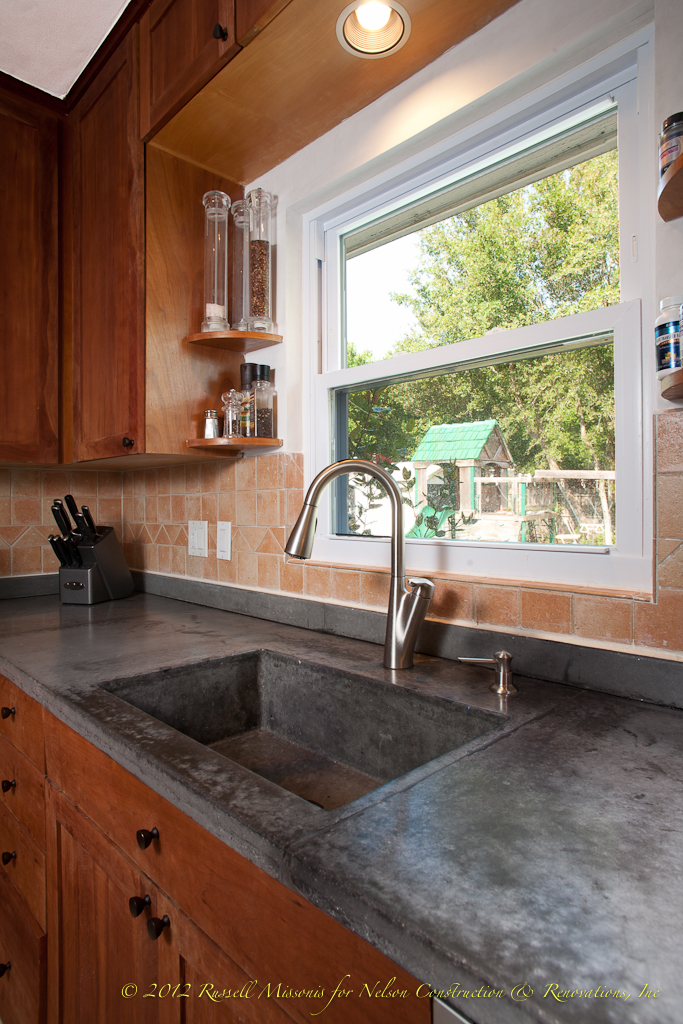 Concrete Countertops By Nelson Construction And