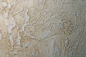 Golden Venetian Plaster wall background