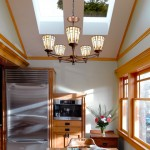 beautiful skylights in home