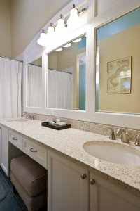 Maximize space for bathroom countertops