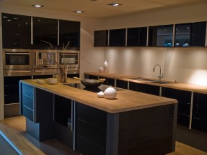 Kitchen Island in a modern home