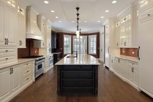 Custom Home Design Kitchen Island