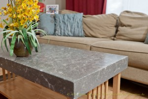 Concrete Countertop Table