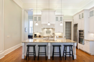 custom cabinetry all white kitchen