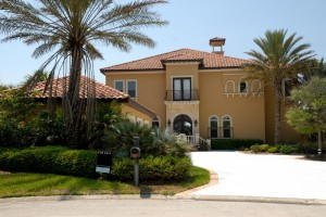 Florida home exterior walls