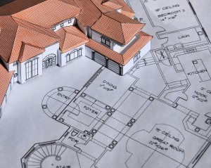 Design-build concept - Model House And Blueprints