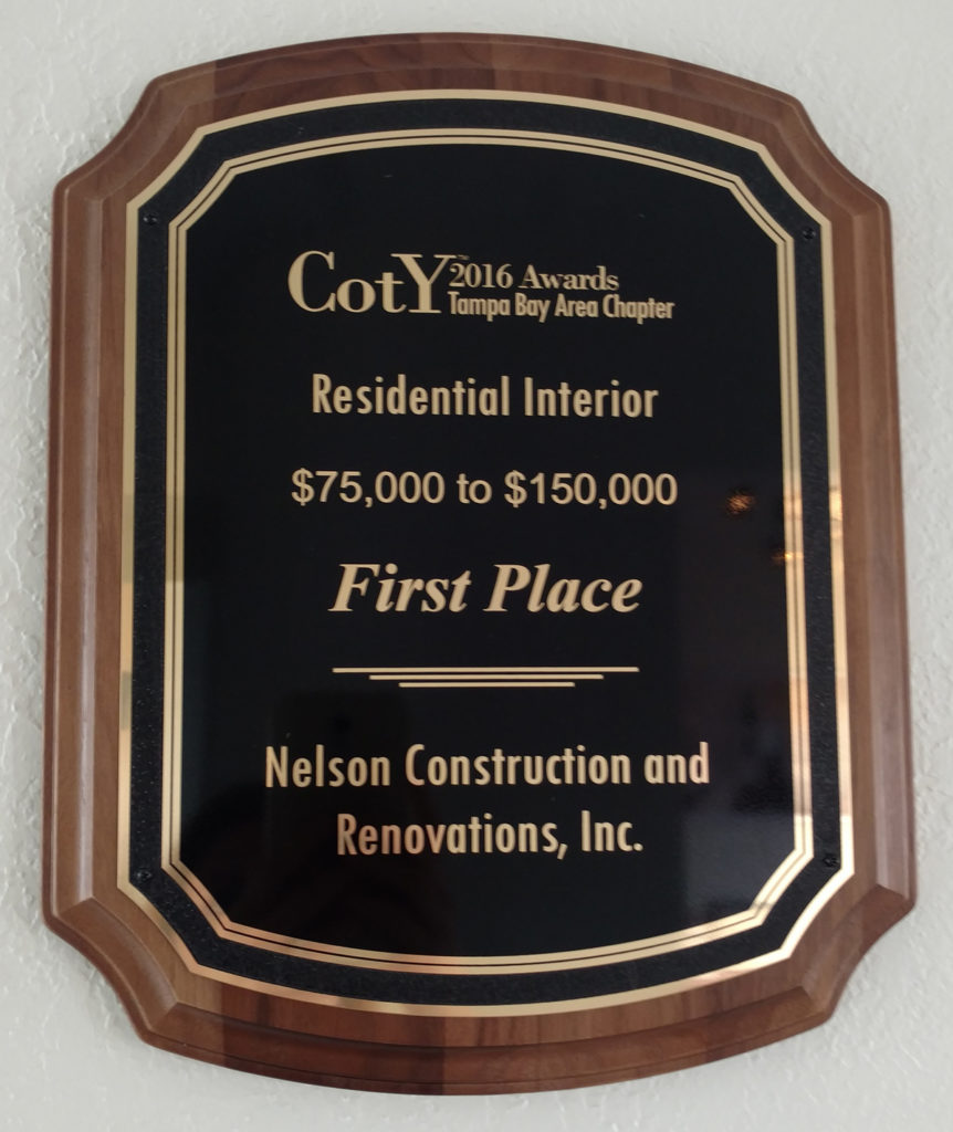 , Nelson Construction Wins First Place in the 2016 NARI Contractor of the Year Awards, Nelson Construction & Renovations, Inc., Nelson Construction & Renovations, Inc.