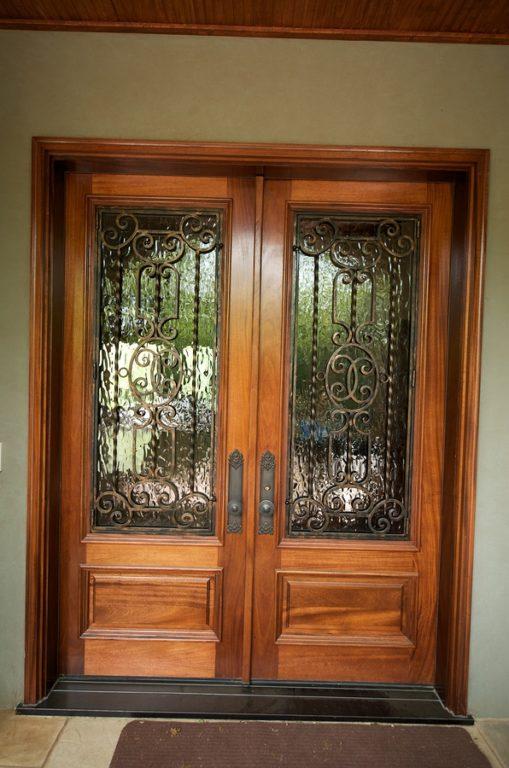 Front Door Steel Custom Home