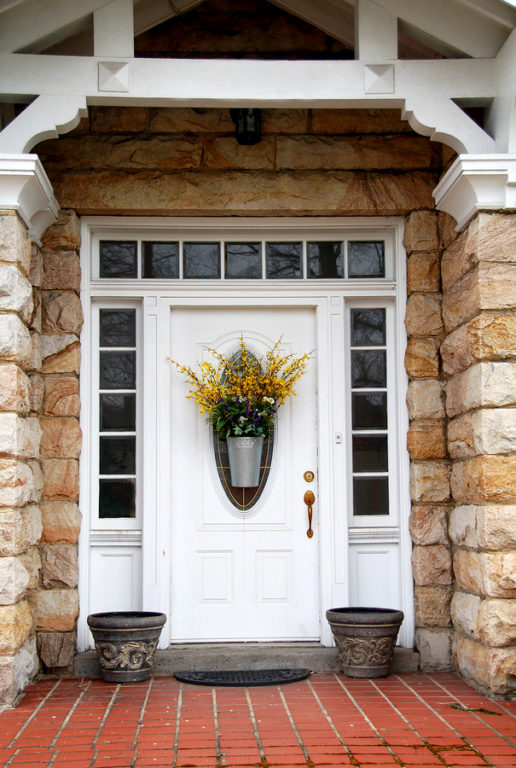 Front Door Wood Custom Home