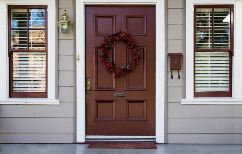 Front Door Fiberglass Custom Home