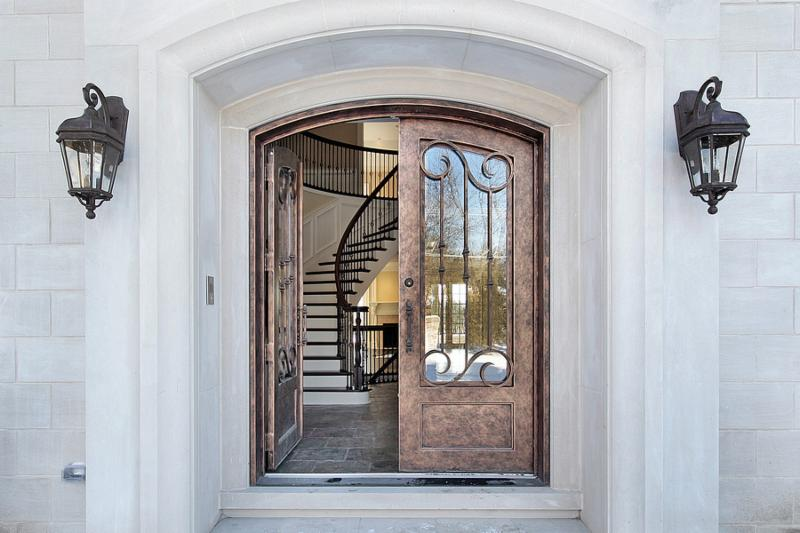 Front Door Custom Home