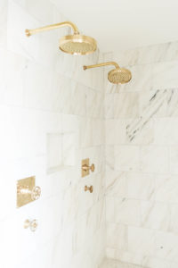 Brass shower heads