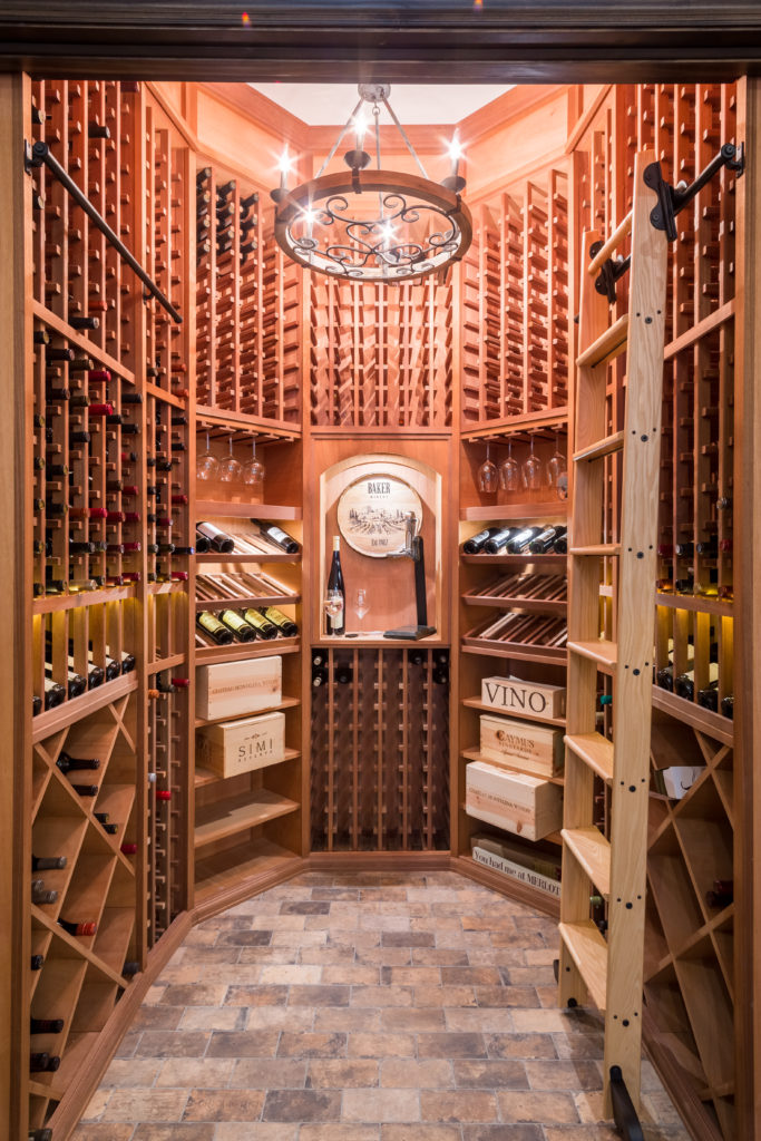 wine cellar Island Estates
