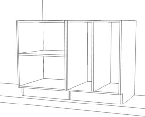 Millwork custom cabinets