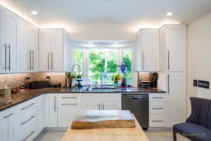 Millwork Frameless Custom Kitchen Cabinets