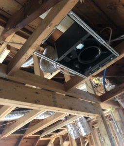 Small Ceiling Unit In One Of Our Historic Home Remodels