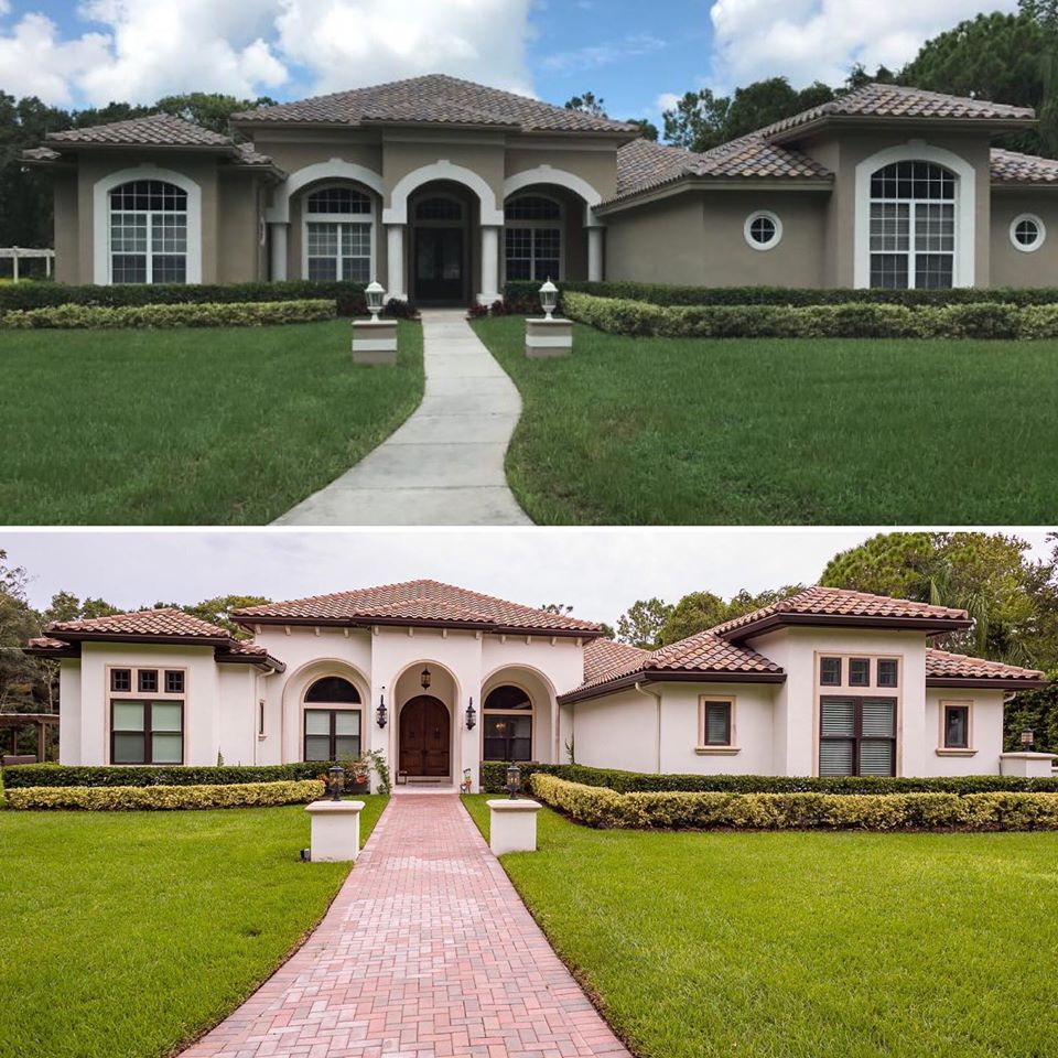 Before and After Oldsmar Remodel