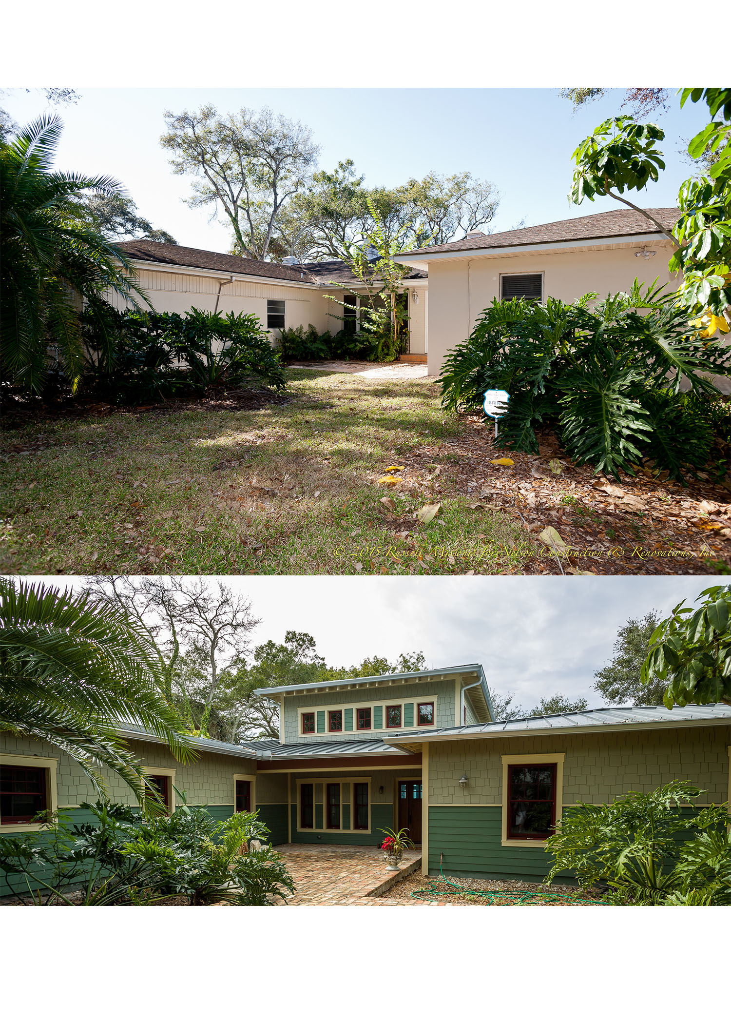 Clearwater home before and after