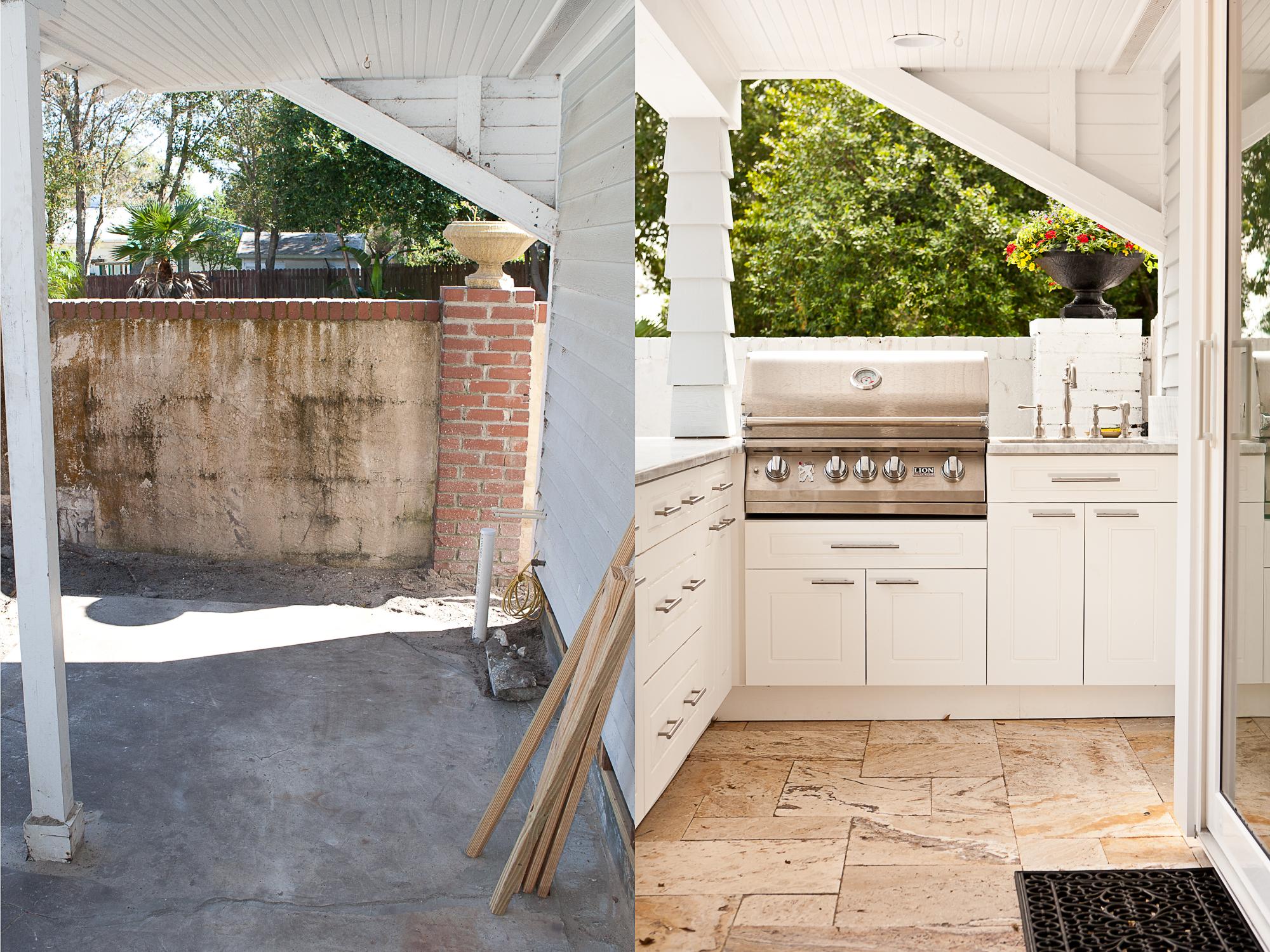 Clearwater outdoor kitchen