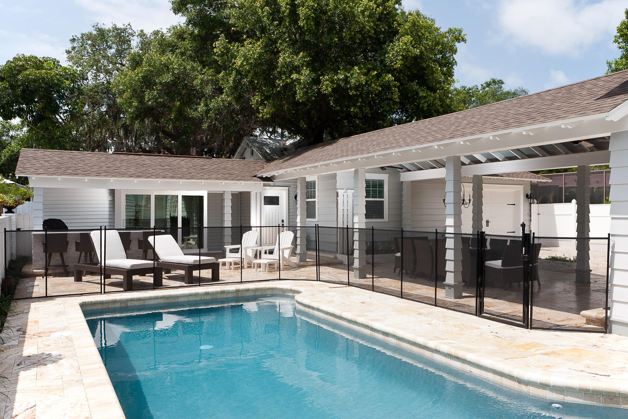 Clearwater pool house