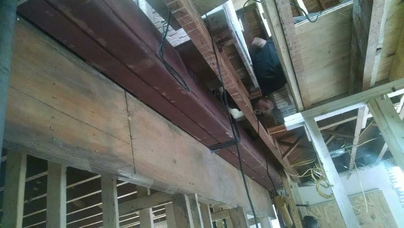 Load bearing steel beam
